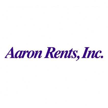 Aaron rents