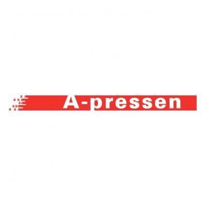 A pressen
