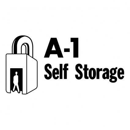 free vector A 1 self storage