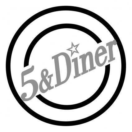 free vector 5 diner