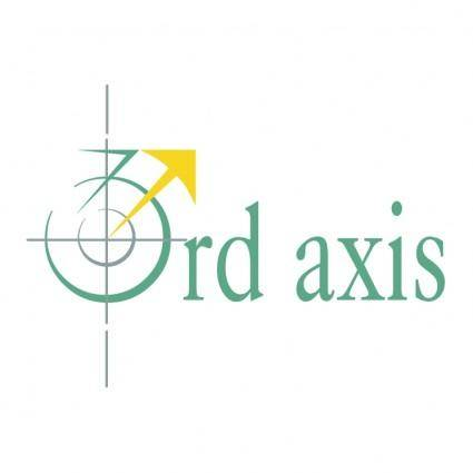 free vector 3rd axis