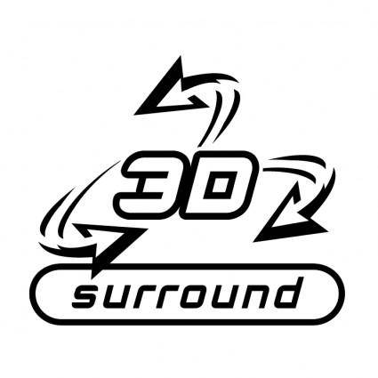free vector 3d surround