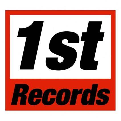 free vector 1st records
