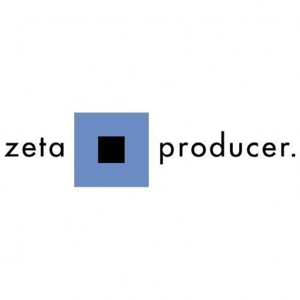 free vector Zeta producer