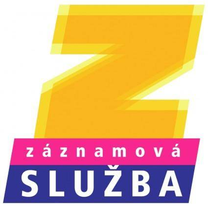 free vector Zaznamova sluzba