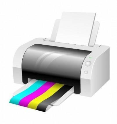 free vector Vector Printer