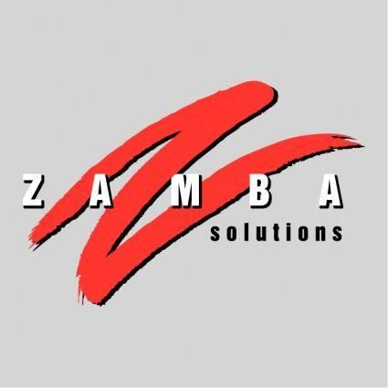 free vector Zamba solutions