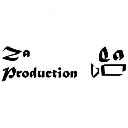 free vector Za production