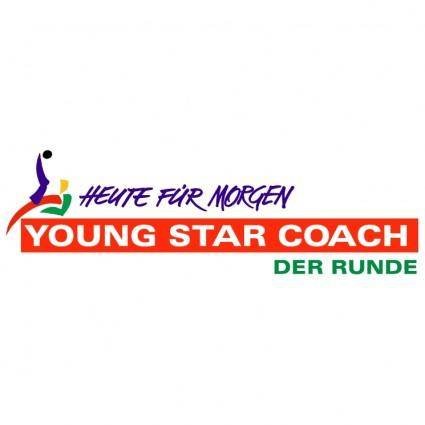 free vector Young star coach der runde
