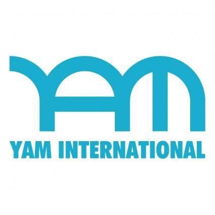 free vector Yam international