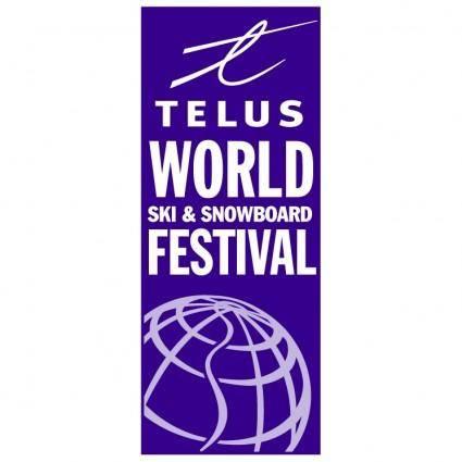 free vector World ski snowboard festival