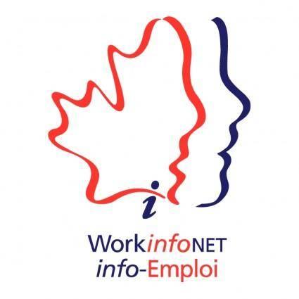 free vector Workinfonet info emploi