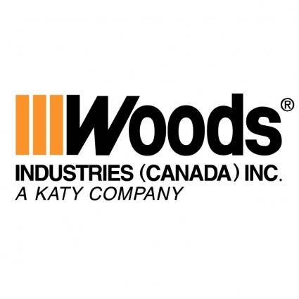 free vector Woods industries canada