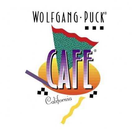 free vector Wolfgang puck cafe
