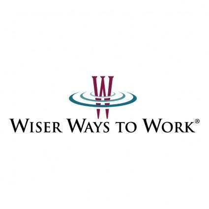 Wiser ways to work