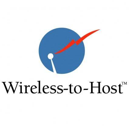 free vector Wireless to host