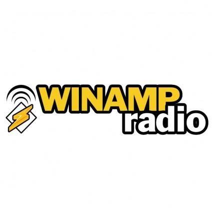 free vector Winamp radio