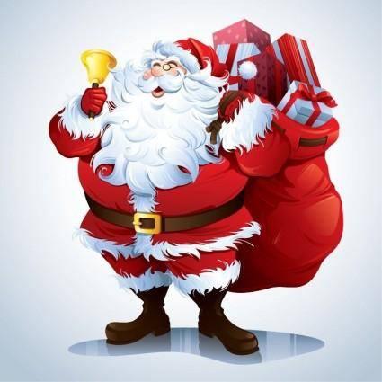 free vector Santa Claus Vector Clip-art