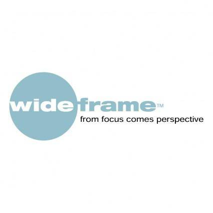 free vector Wideframe