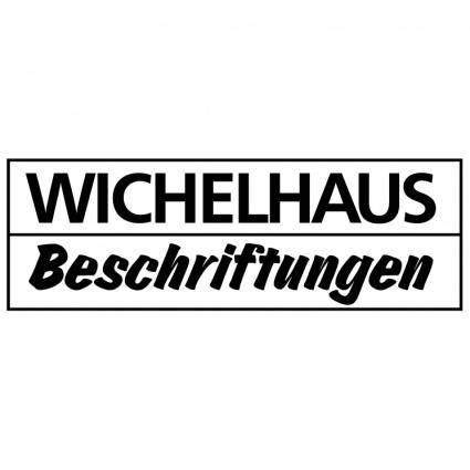free vector Wichelhaus beschriftungen