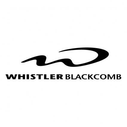 free vector Whistler blackcomb