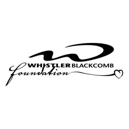 free vector Whistler blackcomb foundation