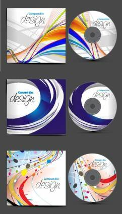 free vector Dynamic cd covers vector