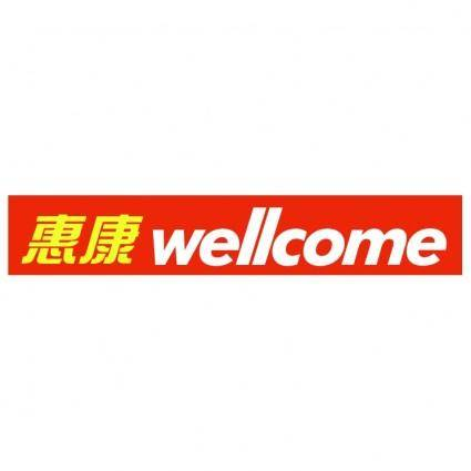 free vector Wellcome 1