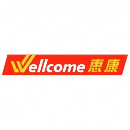 free vector Wellcome 0
