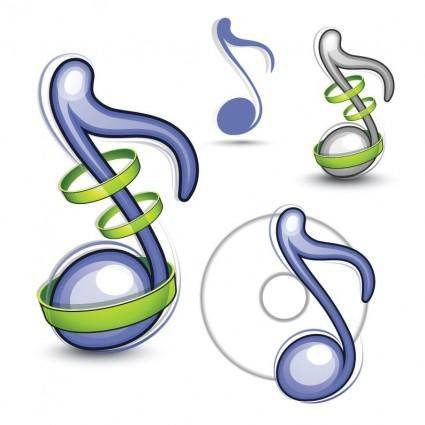 free vector Musical Note Vector Illustration