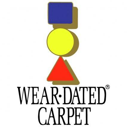 Wear dated carpet