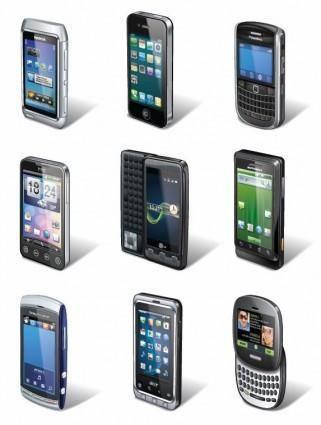 free vector Smartphone Vector Set