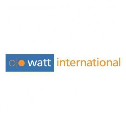 free vector Watt international