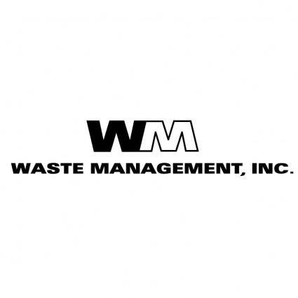 free vector Waste management 0