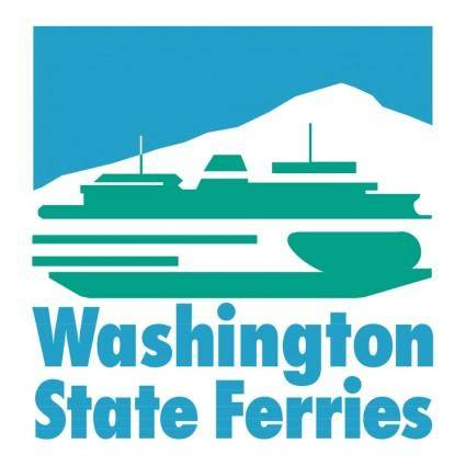 free vector Washington state ferries
