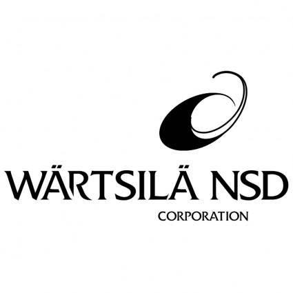 free vector Wartsila nsd corporation