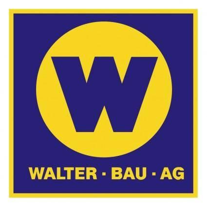free vector Walter bau ag