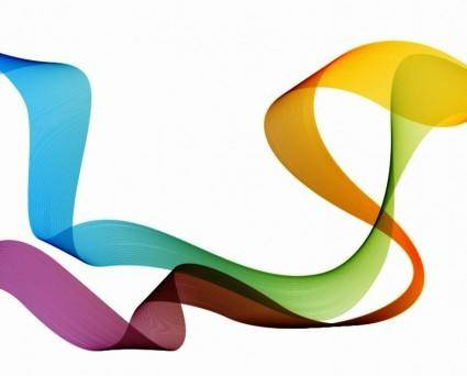 free vector Colorful Tape Vector Graphic