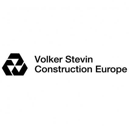 free vector Volker stevin construction europe