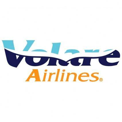free vector Volare airlines