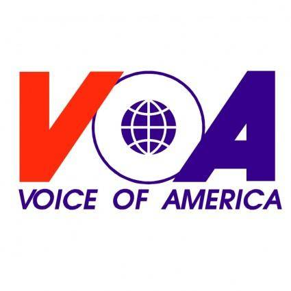 free vector Voice of america