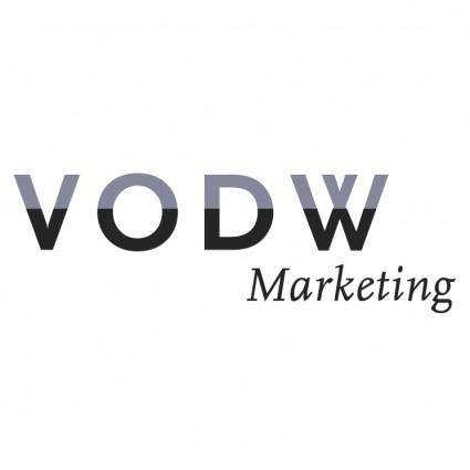 free vector Vodw marketing