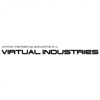 free vector Virtual industries