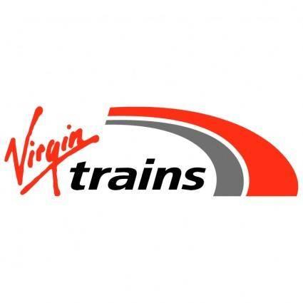 free vector Virgin trains