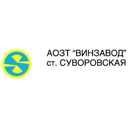 free vector Vinzavod suvorovskaya
