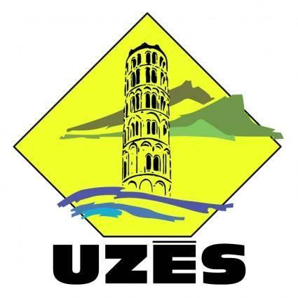 free vector Ville de uzes