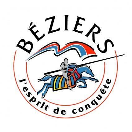 free vector Ville de beziers