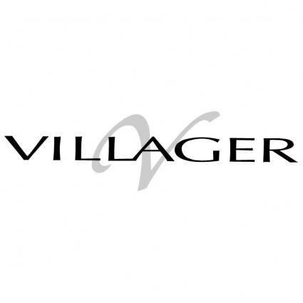 free vector Villager