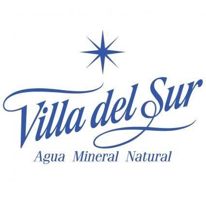 free vector Villa del sur