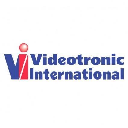 free vector Videotronic international